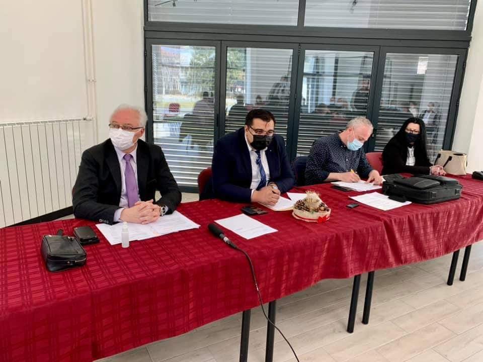 9. седница Извршног одбора НСВ и 9. седница Националног савета Влаха у Деспотовцу.