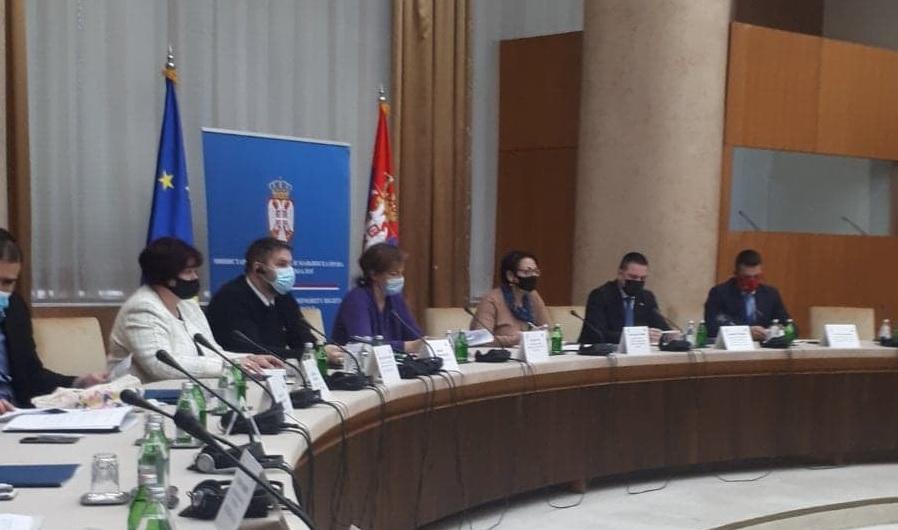 Одржан тематски дијалог у Палати Србија