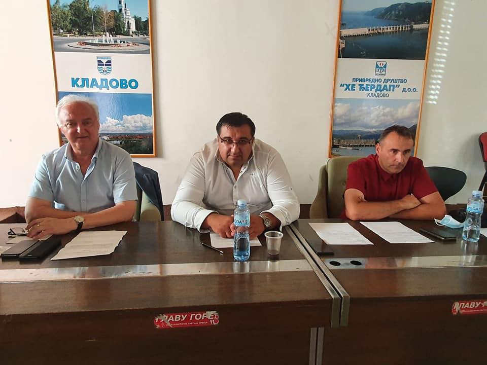 Read more about the article Састанак Извршног одбора НСВ у Кладову